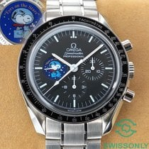 Omega Speedmaster Professional Moonwatch Stål 42mm Svart Arabisk