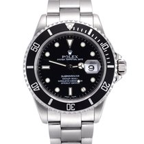 Rolex 16610 Steel 2002 Submariner Date 40mm pre-owned United Kingdom, Manchester