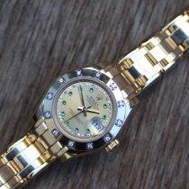 Rolex 80318 Gelbgold 2009 Lady-Datejust Pearlmaster 29mm neu