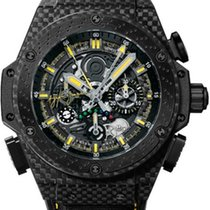 Hublot King Power Carbono 48mm Negro Sin cifras
