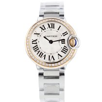 Cartier Ballon Bleu 28mm new Automatic Watch with original box and original papers WE902079