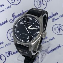 IWC Steel Automatic Black Arabic numerals 46.2mm new Big Pilot