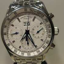 Armand Nicolet Stål 43mm Automatisk 9148A-AG-M9140 ny