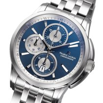 Maurice Lacroix Pontos Chronographe new 2021 Automatic Chronograph Watch with original box and original papers PT6188-SS002-430-1