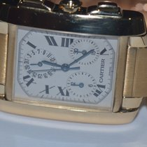 Cartier Yellow gold Tank Française 36mm pre-owned United States of America, New York, Greenvale