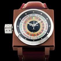 Azimuth King Casino Steel 45mm No numerals