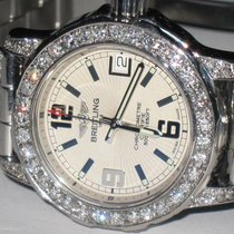 Breitling Colt Oceane Steel 33mm White Arabic numerals United States of America, New York, Wantagh