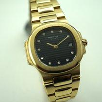 Patek Philippe 4700  Nautilus ladies solid 18k gold c.1990's ...