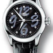 Oris Artelier Date Automatic Steel Womens Strap Watch 25...