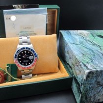 Rolex 1991 ROLEX GMT MASTER 16700 PEPSI RED/BLUE BEZEL WITH...
