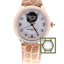 Frederique Constant Heart Beat Mother of Pearl Diamond Dial