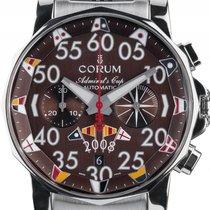 Corum Admiral's Cup Stahl Automatik Chronometer Chronograph...