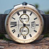 Cartier Calibre de Cartier Chronograph, 18kt. Rosègold...
