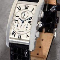 Cartier Tank Américaine Chronoreflex  almost as new 18K Gold...