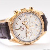 Omega Speedmaster Broad Arrow 18k Gold Co-Axial/Box&Papers