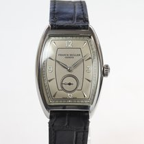 Franck Muller Steel Manual winding Silver Arabic numerals 30mm pre-owned