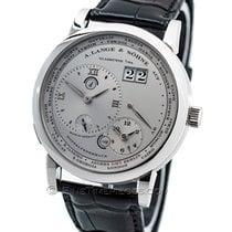 A. Lange & Söhne Lange 1 Platinum 41.9mm Silver Roman numerals