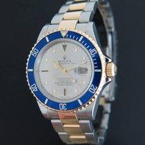 Rolex Submariner Serti/Sultan Dial Gold/Steel 16613