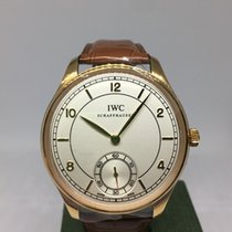 IWC Portuguese Hand-Wound new 44mm Rose gold