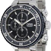 Oris ProDiver Chronograph 01 774 7727 7154-Set new