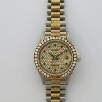 Rolex TRIDOR Ladies DIAMOND BEZEL & DIAL Wristwatch. 100%...