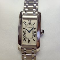 Cartier Tank Américaine White gold 19mm Silver Roman numerals United Kingdom, Wilmslow