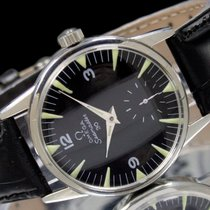 Omega Steel 33mm Manual winding 14713-61 pre-owned