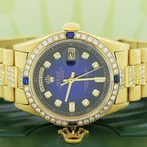 Rolex pre-owned Automatic 36mm Blue Sapphire crystal