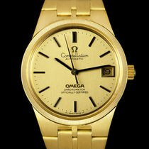 Omega Constellation Yellow gold 33mm Champagne No numerals
