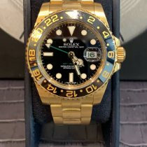 Rolex GMT-Master II Yellow gold 40mm No numerals