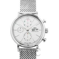 IWC Portofino Chronograph nuevo Automático Reloj con estuche y documentos originales IW391028