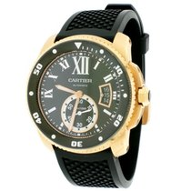 Cartier pre-owned Automatic 42mm Black Sapphire Glass