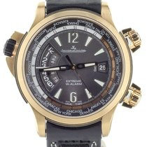 Jaeger-LeCoultre Master Compressor Extreme W-Alarm Oro rosado 36mm Gris