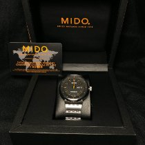 Mido All Dial Stal 42mm Czarny Bez cyfr