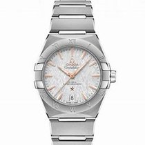 Omega Steel 39mm Automatic 131.10.39.20.06.001 new