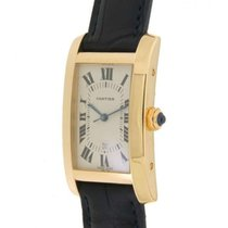 Cartier Tank Americaine In Oro Giallo 18kt