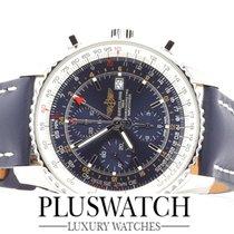 Breitling NAVITIMER WORLD blue dial Blu   A2432212 / C651 /...