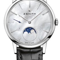 Zenith Elite Ultra Thin Steel 36mm Mother of pearl United States of America, New York, Airmont