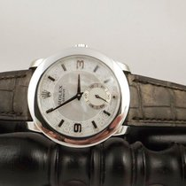 Rolex Platinum Manual winding Mother of pearl Arabic numerals 35mm new Cellini