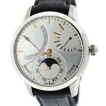 Maurice Lacroix Masterpiece Phases de Lune pre-owned 43mm Leather