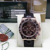 Rolex 116515 Chocolate 18k Everose Rose Gold Daytona Cosmograp...