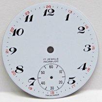 Elgin Antique No Name Pocket Watch Porcelain Dial in Great...