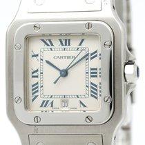 カルティエ (Cartier) Santos Galbee Steel Quartz Mens Watch 987901...
