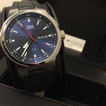 Oris Chronometer 42mm Automatik 2018 neu Williams F1 Blau