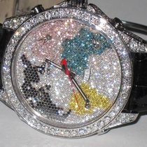 Jacob & Co. World 5 Five Time Zone 47mm World Is Yours Diamonds