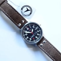 Aristo Beobachter Steel 42mm Black Arabic numerals