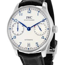 IWC Steel Automatic Silver 42mm new Portuguese Automatic