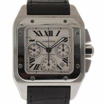 Cartier Santos 100 Steel 42mm White Roman numerals United States of America, Florida, 33132