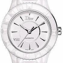 Dior VIII 8 Cd1245e3c001 Automatic Ceramic Ladies Watch Nib