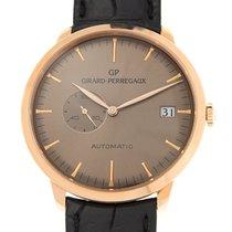 Girard Perregaux Or rose 41mm Remontage automatique 49543-52-B31-BK6A nouveau